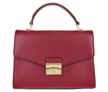Sloan MD TH Satchel Mulberry