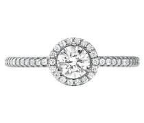 Ring Kors Mk Silver
