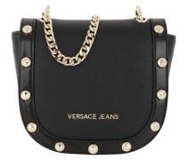 Studded Crossbody Bag Black Tasche