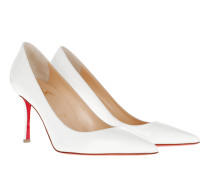 Decoltish Pumps 85 Leather Latte Pumps