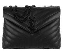 LouLou Shoulder Bag  Quilted Leather Black Tasche