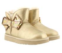 W Mini Sequin Bow  Schuhe