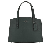 Tote Polished Leather Charlie 28 Carryall Cypress teal-cyan