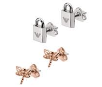 Schmuck EGS2576221 Earring Roségold/Silver bunt