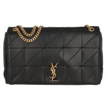 Umhängetasche Monogram Jamie Shoulder Bag Large Leather Black schwarz