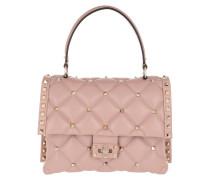 Candystud Shoulder Bag Leather Pink Tasche