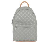 Cortina Metallic Salome Backpack Light Grey Rucksack