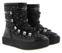 Snow Boot Strass Black Schuhe