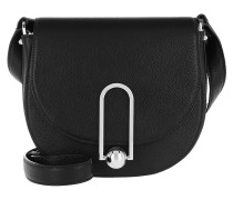 Uptown Saddle Bag Black Tasche