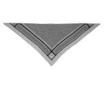 Accessoire Triangle Scarf Trinity Classic Flanella Lightgrey Melange