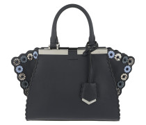 Mini 3Jours Tote Leather Night Blue Tasche