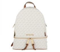 Rucksack Rhea Zip MD Backpack Vanilla weiß