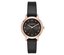 Vanessa Classic Watch Black Uhr