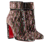 Moula Max 100 Paillettes Ankle Boots Silver Schuhe