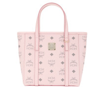 Tote Toni Visetos Mini Shopper Powder Pink