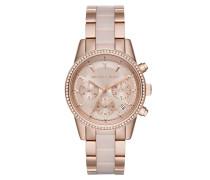 MK6307 Ritz Pavé Watch Rose Gold-Tone Uhr