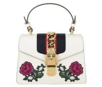 Sylvie Embroidered Mini Bag White/Multi Tasche