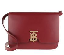 Umhängetasche Medium TB Monogram Bag Leather Crimson rot