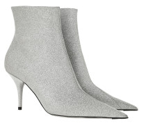 Boots Brillant Glitter Ankle Boot Silver silber
