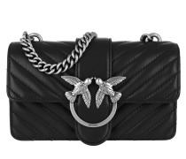 Umhängetasche Mini Love Mix Crossbody Bag Nero Limousine schwarz