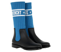 Logo Sock Boots Electric Blue/White Schuhe blau