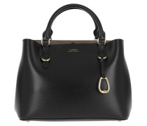 Bennington Satchel Bag Medium Black/Truffle Satchel Bag