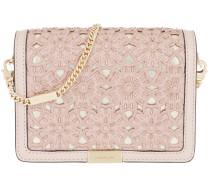 Jade Gusset Medium Clutch Soft Pink Tasche
