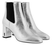 Loulou 70 Chelsea Ankle Boot Silver Schuhe