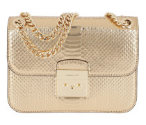 Sloan Editor MD Chain Shoulder Bag Leather Pale  Tasche
