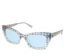 Sonnenbrille MCM682S Blue/Aqua Iridescent Visetos