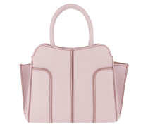 Sella Small Tote Leather Lilac Tote