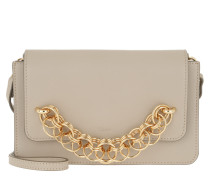 Clutch Drew Bijou Clutch Leather Pastel Grey beige