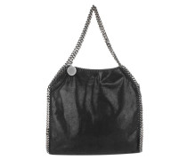 Falabella Shaggy Deer Small Tote Black