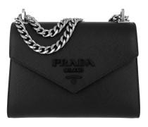 Monochrome Crossbody Bag Medium Nero Tasche