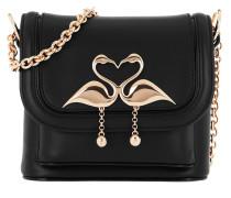 Claudie Flamingo Cross Body Bag Black Tasche