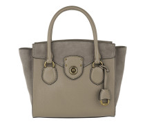 Millbrook Satchel Bag Medium Taupe Tote