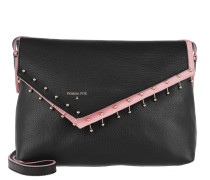 Crossbody Bag Metal Contrasting Nero\Fresh Rose Tasche