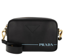 Umhängetasche Mirage Leather Crossbody Bag Nero schwarz