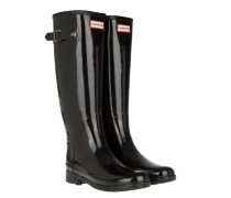Boots Women's Original Refined Glossy Rubber Boots Black schwarz
