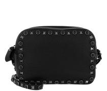 Rockstud Shoulder Bag Rolling Black Tasche