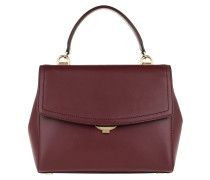 Ava MD TH Satchel Bag Oxblood Satchel Bag