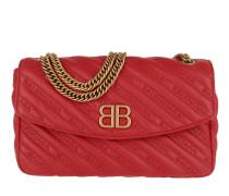 Balenciaga Chain Shoulder Bag Leather Red Tasche