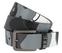 Studded Belt Light Grey Gürtel