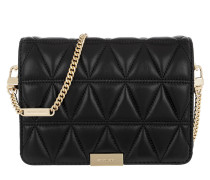 Jade Medium Gusset Clutch Black Tasche