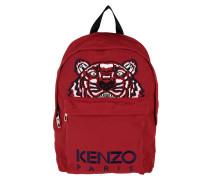 Kanvas Tiger Medium Backpack Medium Red Rucksack