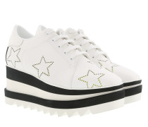 Sneak Elyse Stars Fluo White/Yellow Sneakers