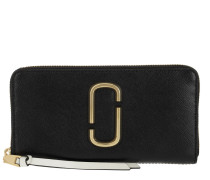 Portemonnaies Snapshot Standard Continental Wallet Leather Black/Multi schwarz