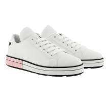 Sneakers Badge Sneakers Calf Leather White weiß