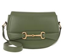 Umhängetasche Crécy Bag Small Leather Light Khaki