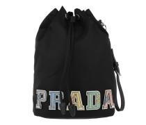 Bucket Vela Bag Logo Multi Black Beuteltasche